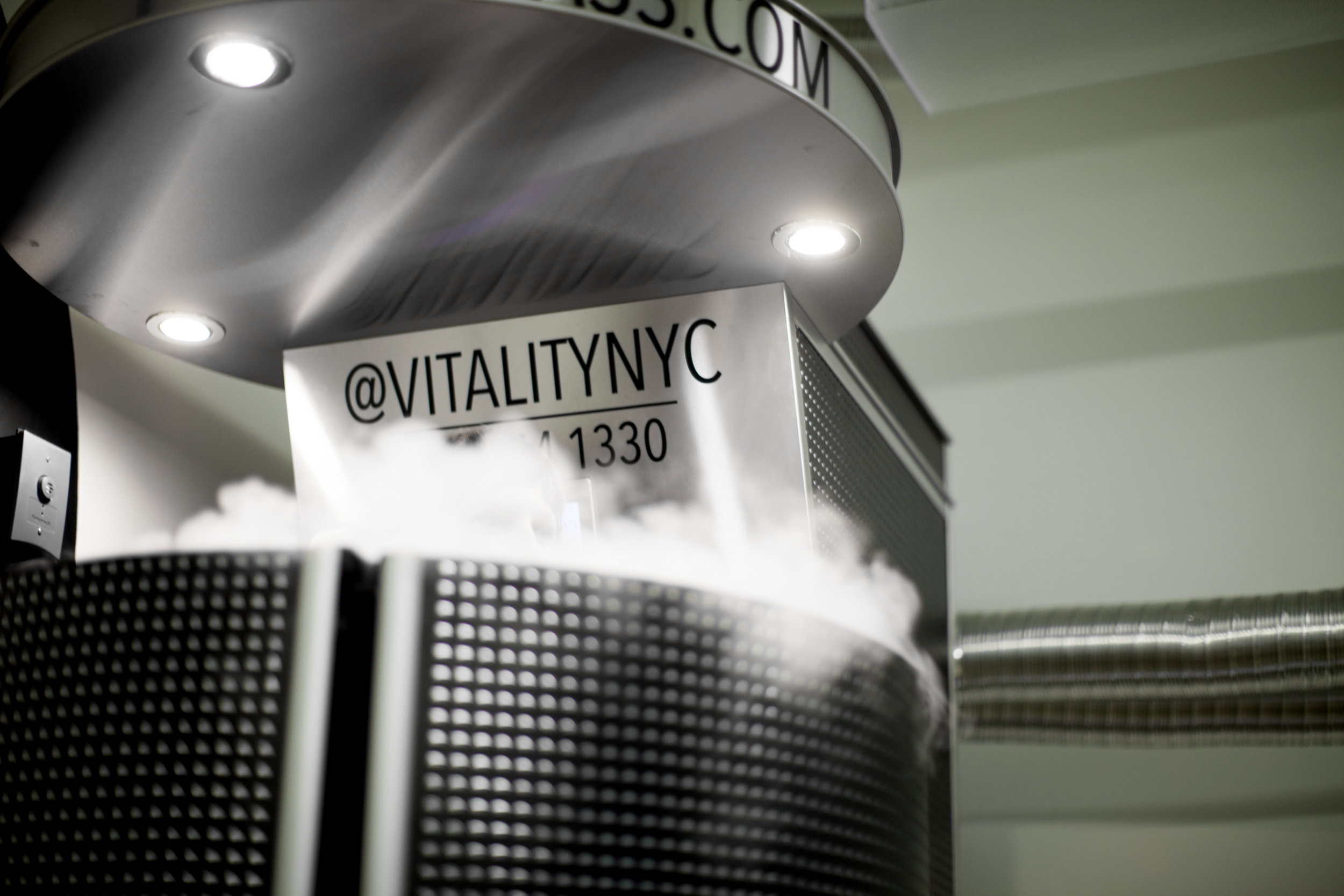 VITALITY NYC - Come experience New York's top Nutritional Detox and Rejuvenation studio. Located just steps from Penn Station and Herald Square, we offer Gravity Colonics, Cryotherapy and Nutritional Counseling.Gravity Colon Hydrotherapy uses the natural flow of gravity to introduce water into the body. Using the latest in water filtration technology, our custom-made treatment rooms use ultra-purified water to dissolve and carry wastes away. Our team is certified in the Woods Method of Gravity Colonics and is additionally trained in-house before joining our team. Sessions generally last 45 minutes to one hour. IT IS AMAZING AND YOU MUST TRY!