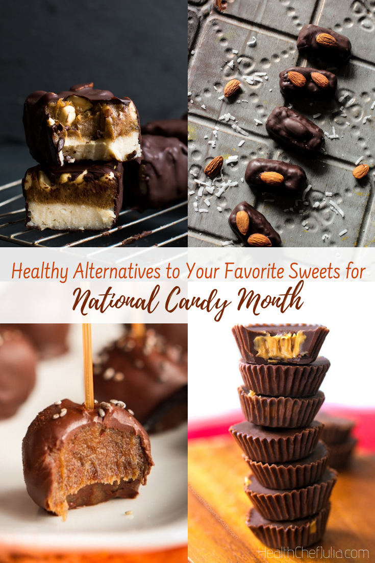 Healthy Alternatives to Your Favorite Sweets for National Candy Month