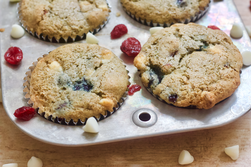 Red White and Blueberry Muffins