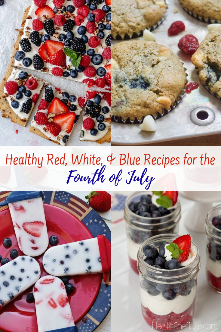 Healthy Patriotic Recipes for the Fourth of July