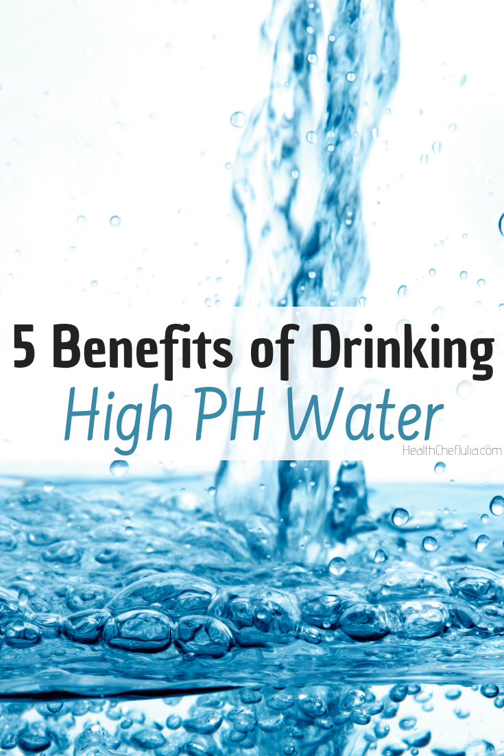 5 Benefits of Drinking High PH Water