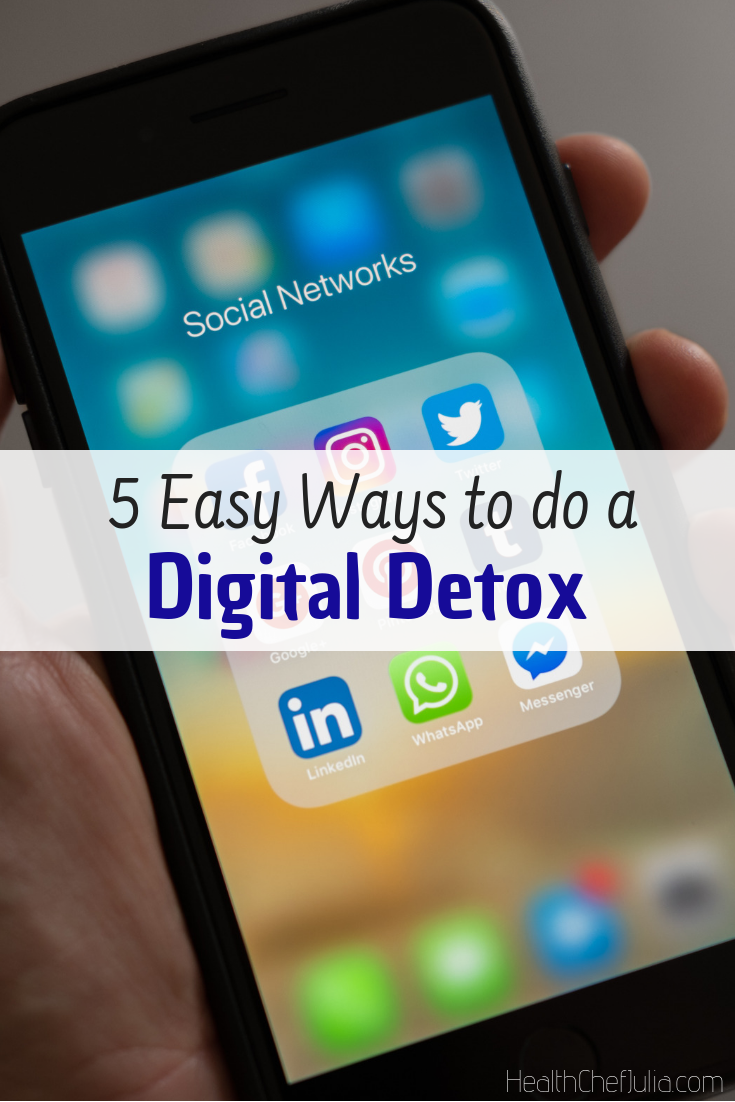 5 Easy Ways to do a Digital Detox