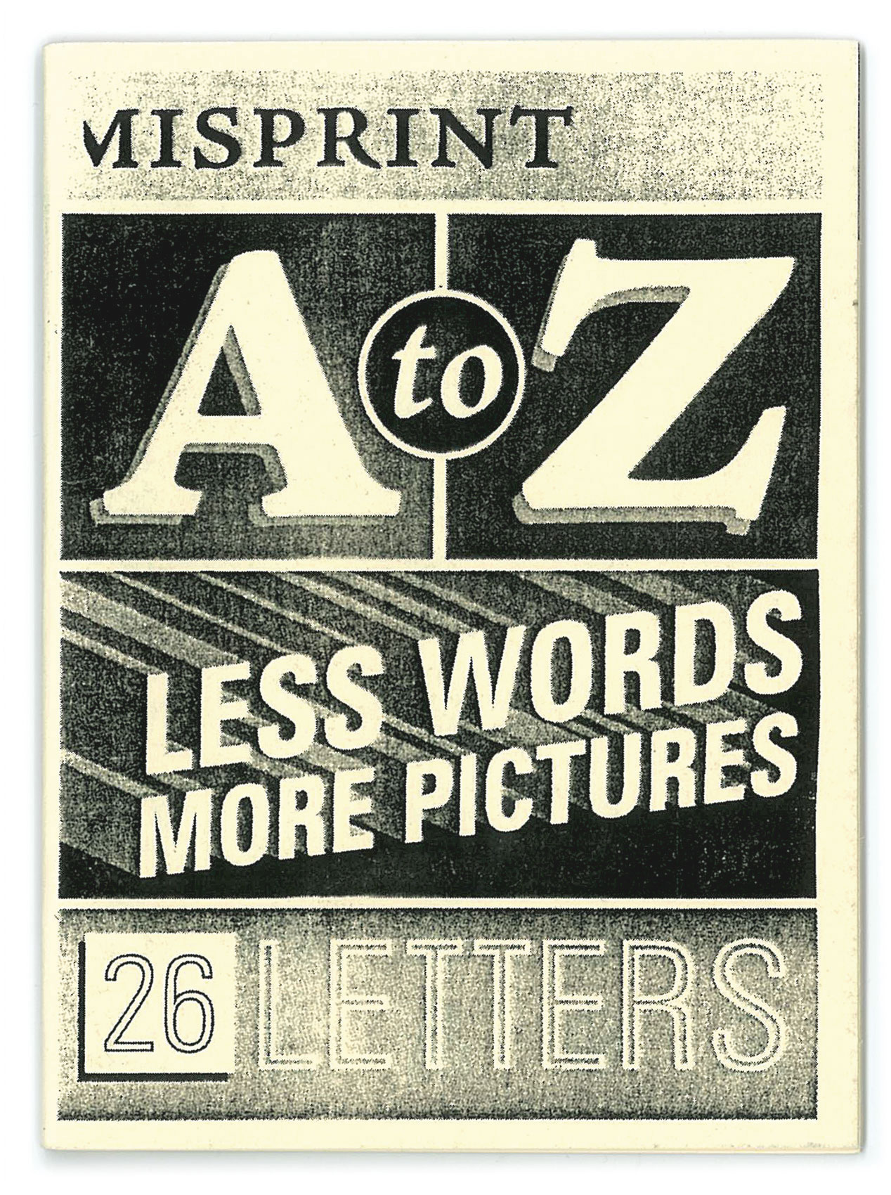misprint a to z  booklet
