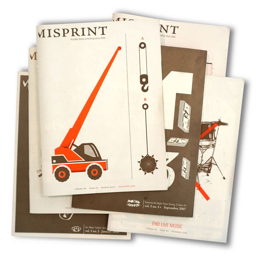 Misprint Magazine  Integrated Creative