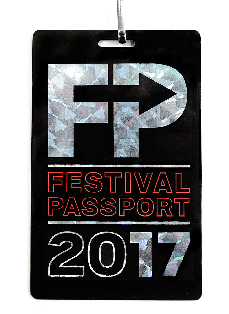 Live Nation Festival Passport  Branding