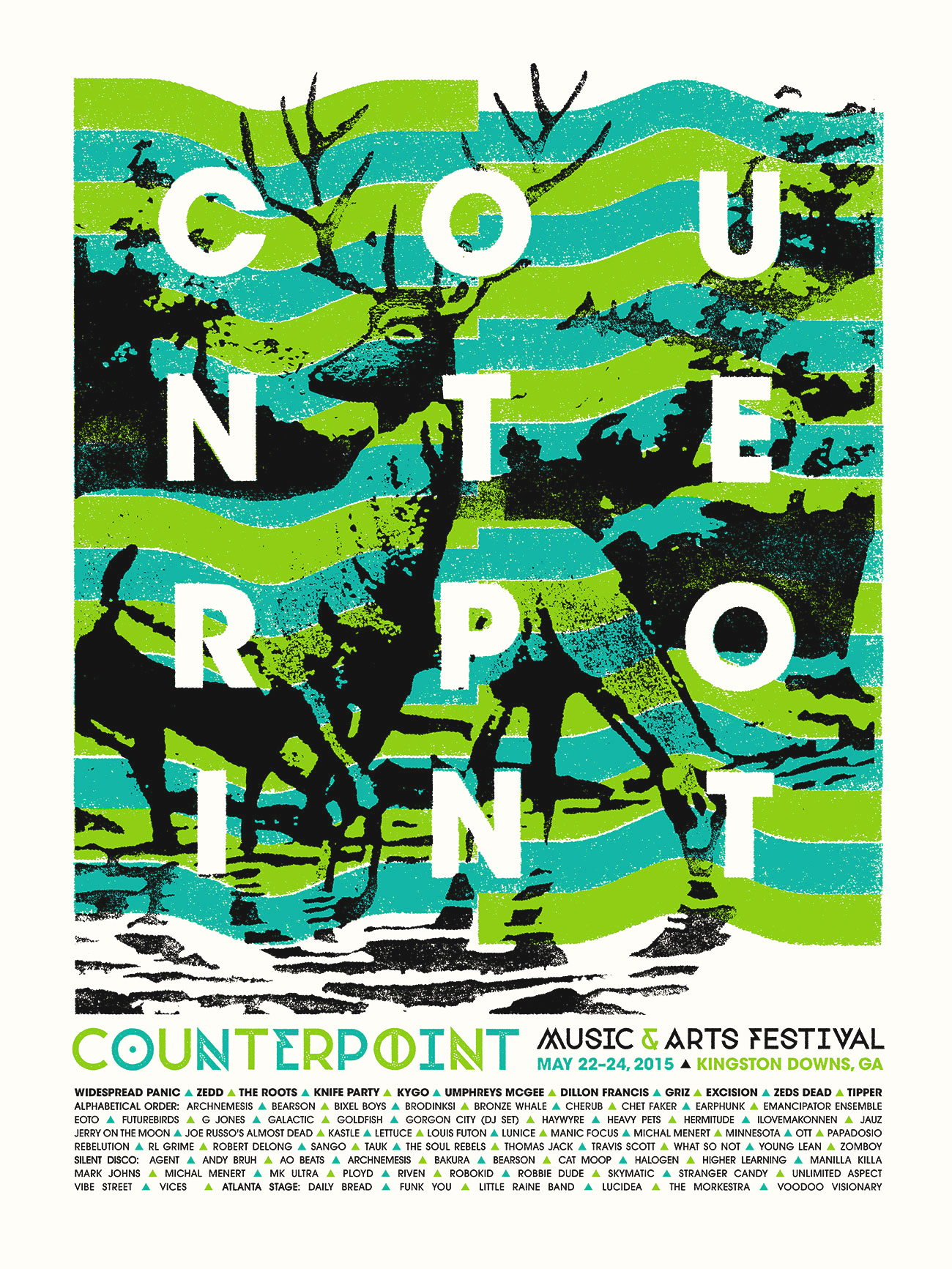 counterpoint festival  commemorative poster