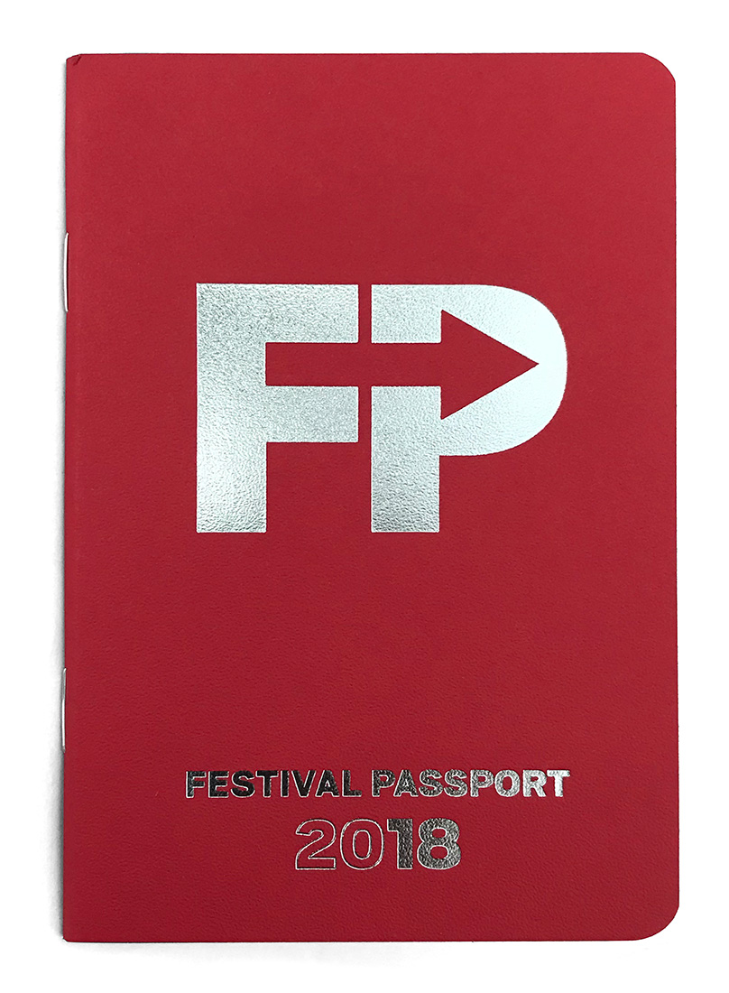FESTIVAL passport  booklet
