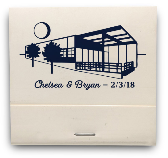 C&B  MATCHBOOK
