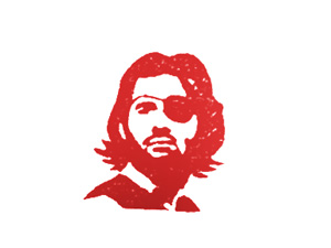 snake plissken  ink stamp