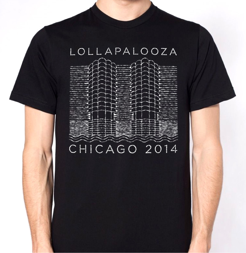 unknown marina city  lolla shirt