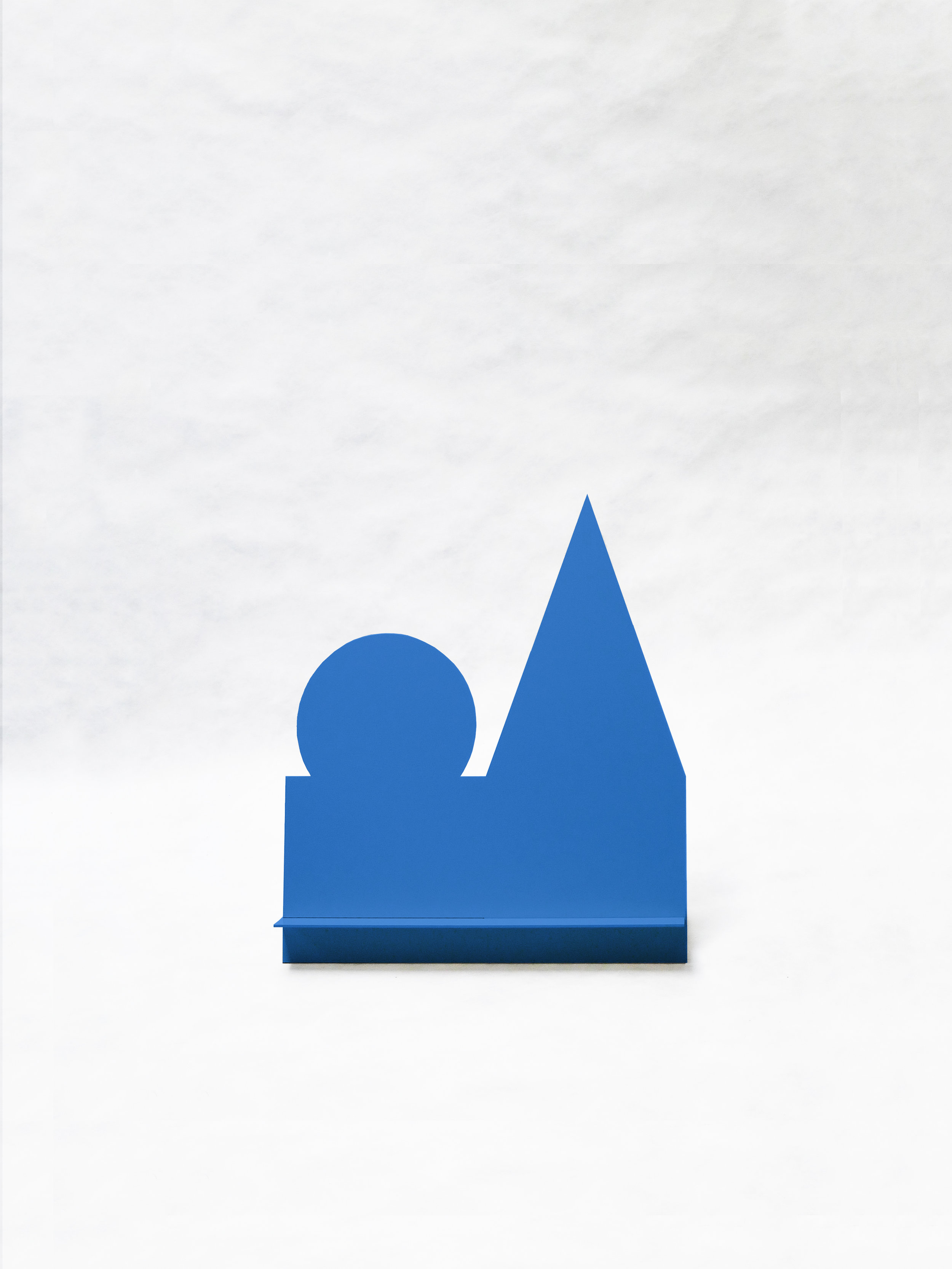 "Gnome Without Hat (Blue)   20"" x  6.5"" x 23.5""  $298.00"