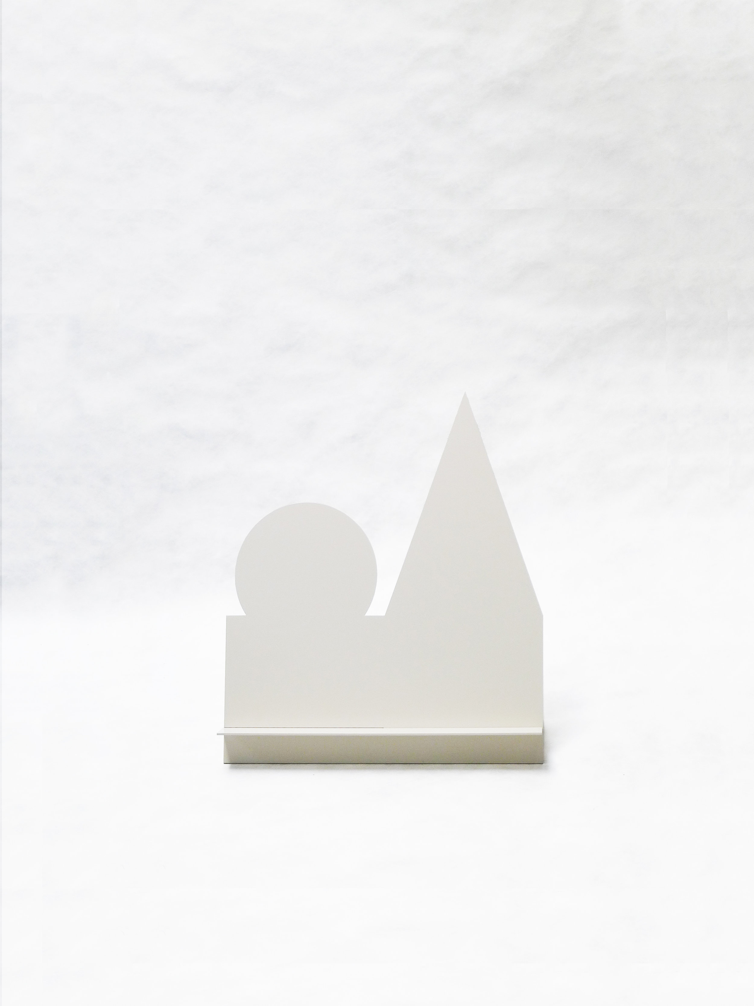 "Gnome Without Hat (White)   20"" x  6.5"" x 23.5""  $298.00"