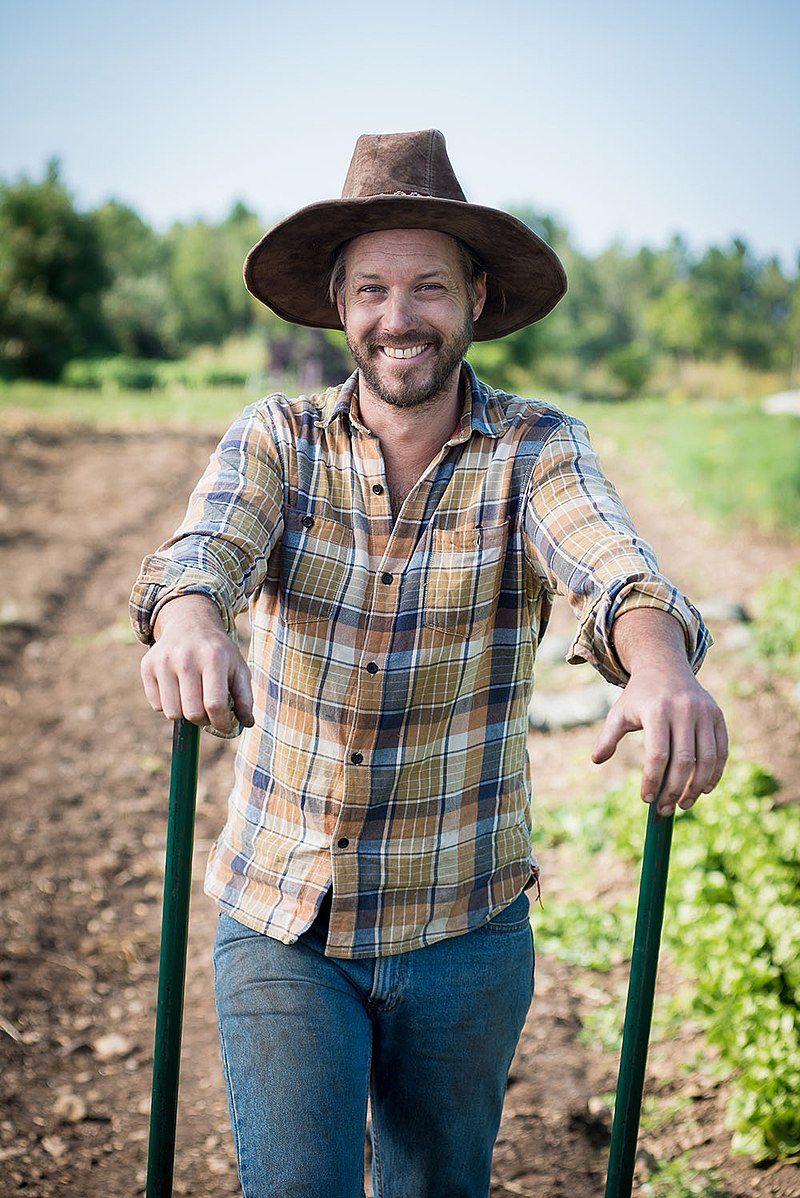Jean-Martin Fortier, author of the best seller  The Market Gardener