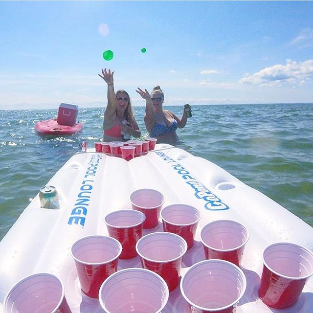 Who said the weekend has to end on Sunday 😎📸🔥 thank you @hannahljoness for the inspiration! . . . . . . . . . . . . . . . . . . #gopongparty #gopong #ocean #beach #beer #weekend #drink #drinks #awesome #cool #fun #best #vibes #party #vacation #event #poolparty #fam #friends #beerpong #igers #product #unique