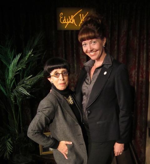 Edith Head (Suz) with Betsy Kruse Craig