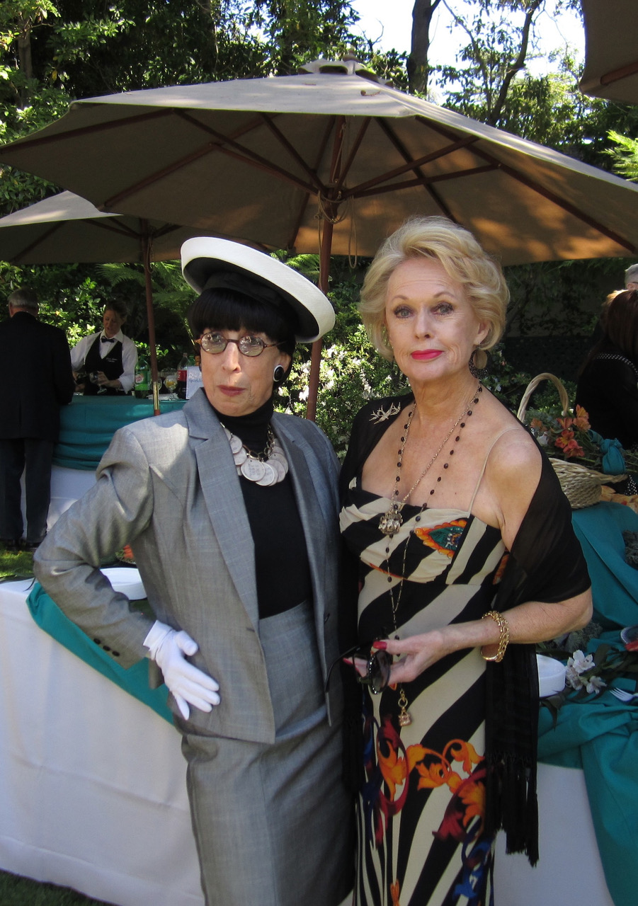 Edith Head (Suz) with Tippi Hedren