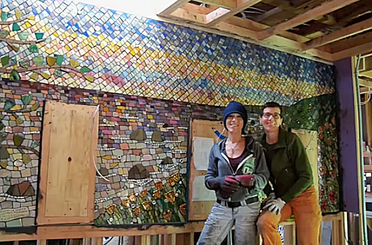 Esalen Poppy Mural Workshop