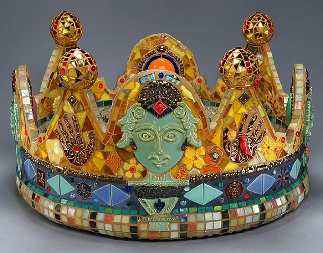 """Crown for a day. 24"""" x 28""""."""
