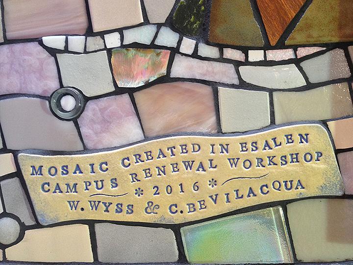Esalen Poppy Workshop Mural