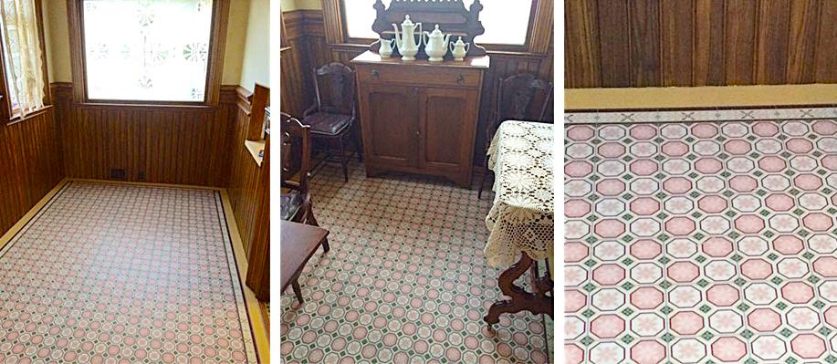 Lois's + Bill's Flooring.