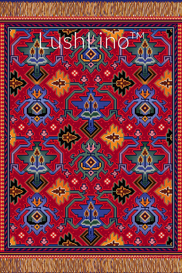 Woven Magic Carpet Ride.