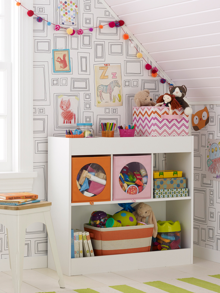 Nursery Storage - art direction Kayd Roy