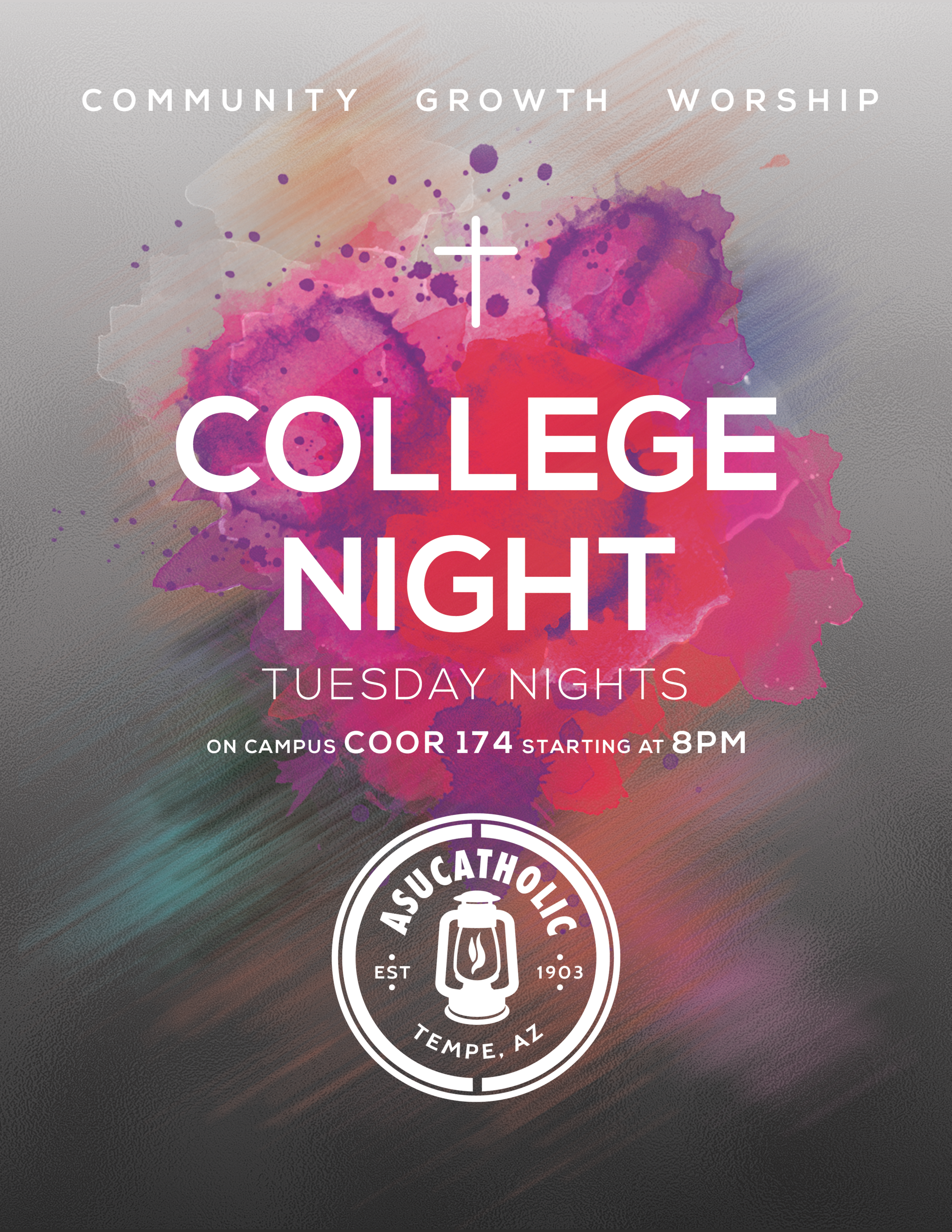 College Night Flyer Promo Pink.png
