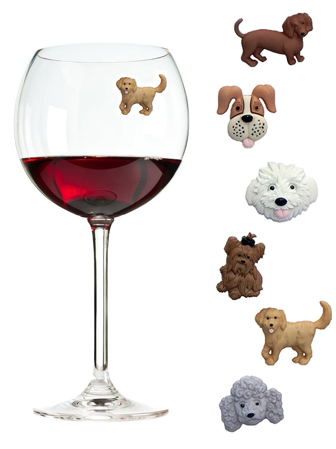 Never lose your wine glass again! - $