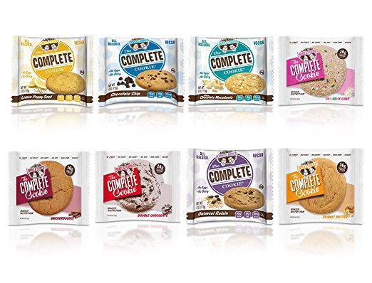 Perfect for on-the-go, these cookies are vegan, all natural, high in protein and fiber, and delicious! - $