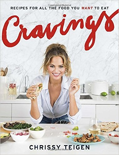 A cookbook by a Supermodel? Trust us, Chrissy Teigen is home chef #goals.  - $