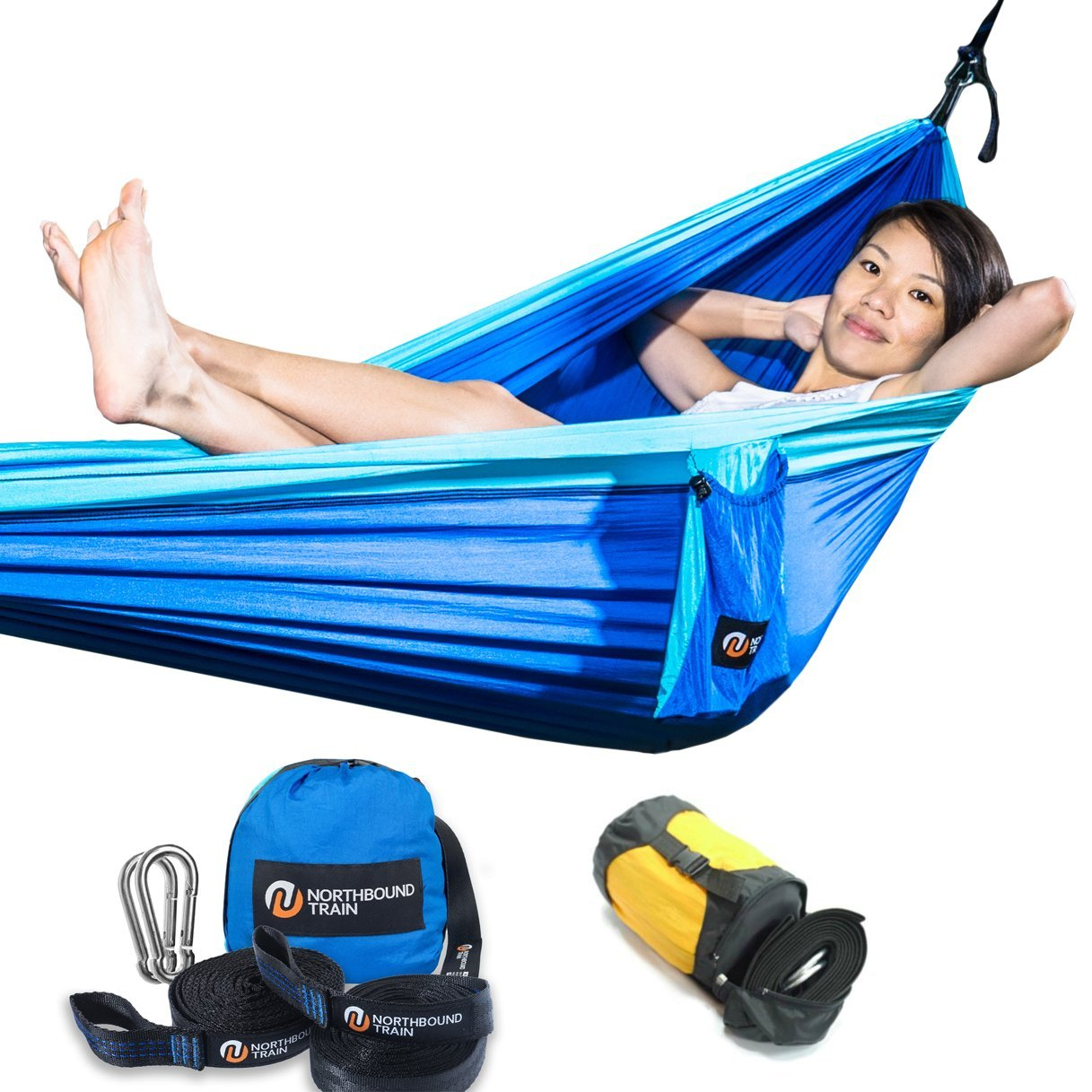 Size matters - this deluxe single hammock is perfect for one or two seated people.  - $