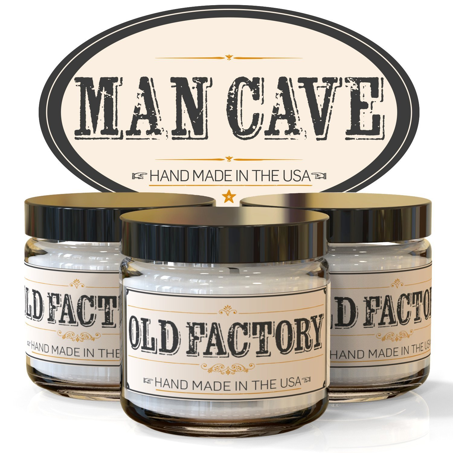 Light one of these candles for the perfectly scented Man Cave. - $