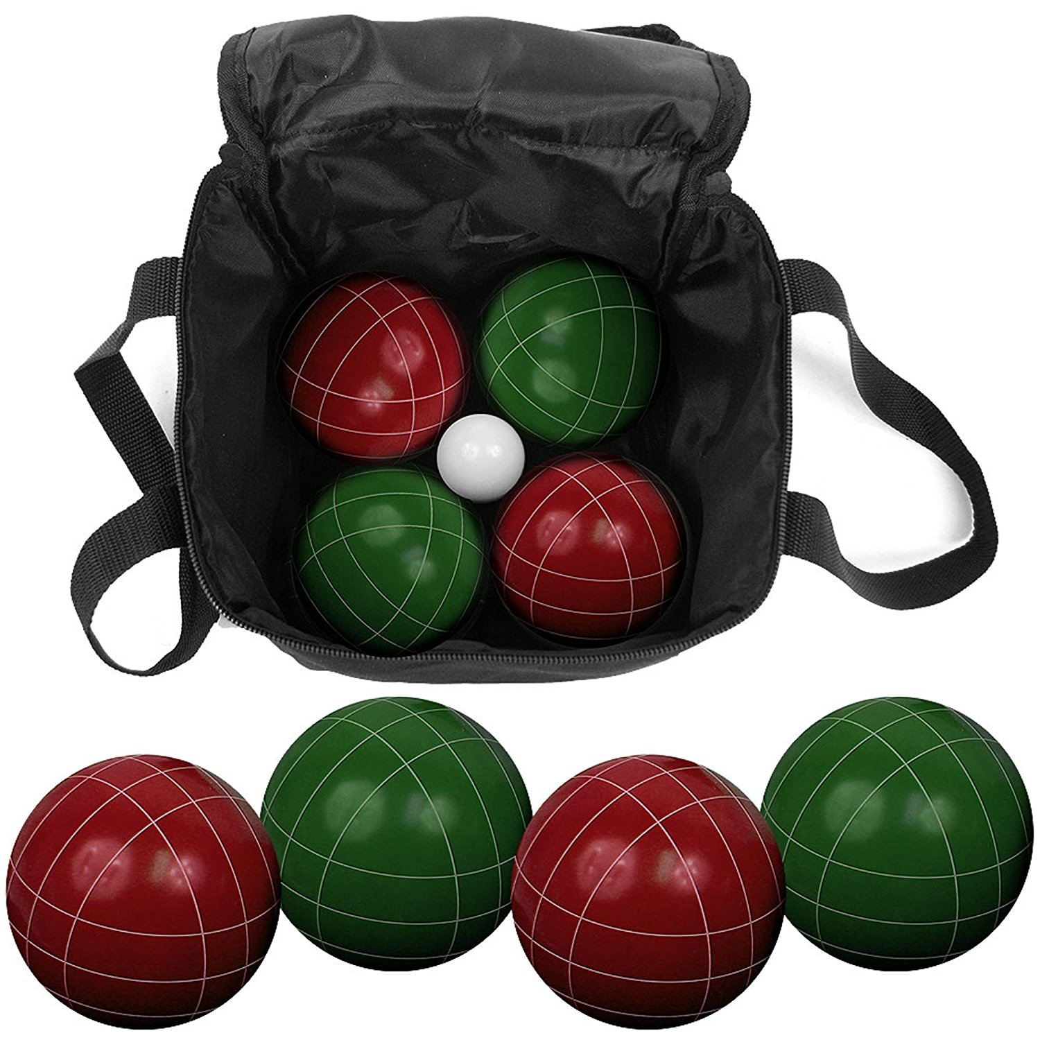 Bring the party with you with this durable, travel Bocce set. - $