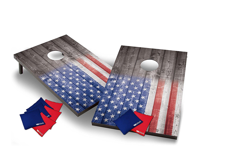 Be a cornhole champion... patriotically. - $$