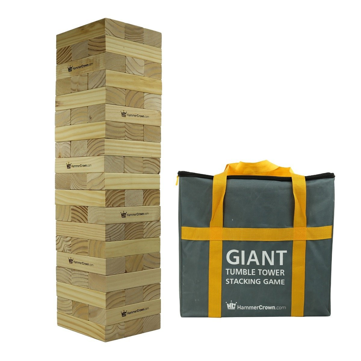 Three words: giant. tumble. tower. Let the games begin! - $$