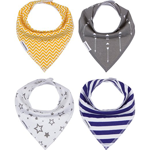 Every stylin' baby needs a set or two of these bibs. - $