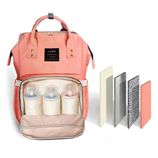 The diaper backpack that does it all. - $