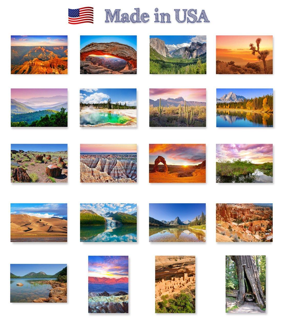 Majestic National Park postcard set. - $