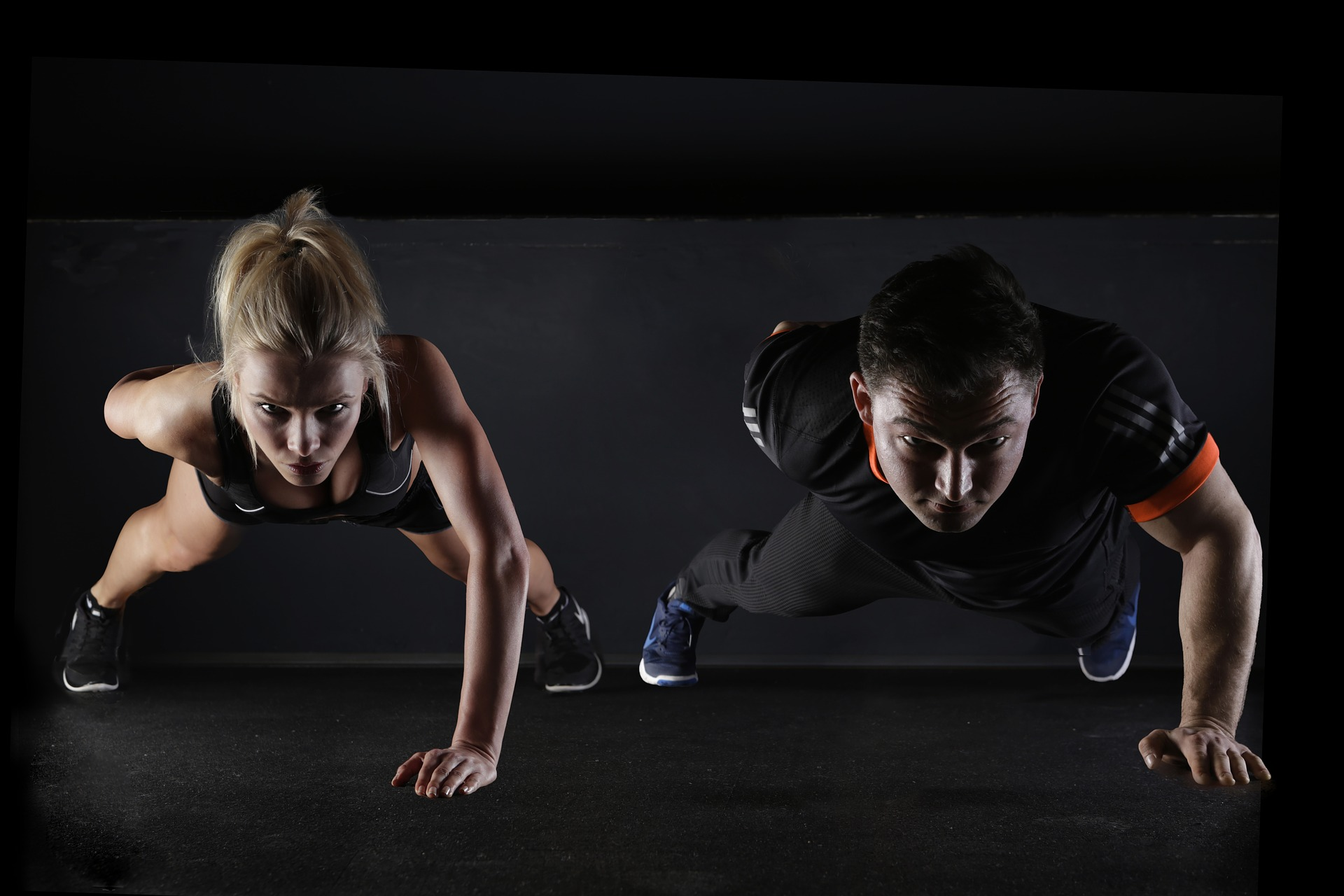 Fitness guru  - the only bad workout is the one you didn't do