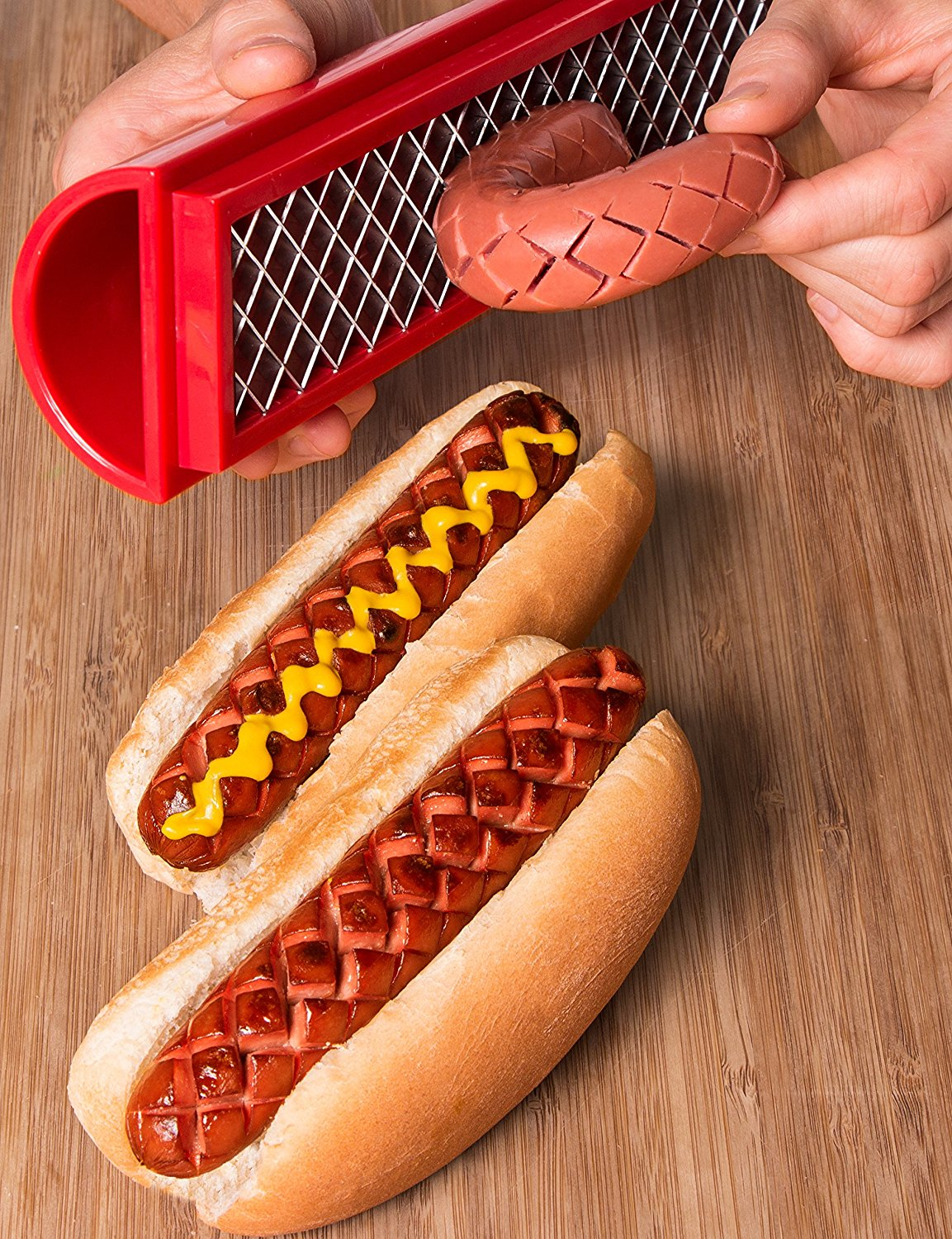 Stadium-style dogs at home! - $