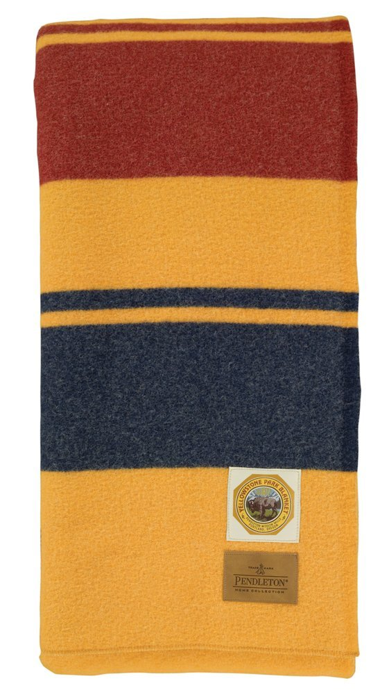Bring the National Parks home with this authentic, 100% wool blanket. - $$