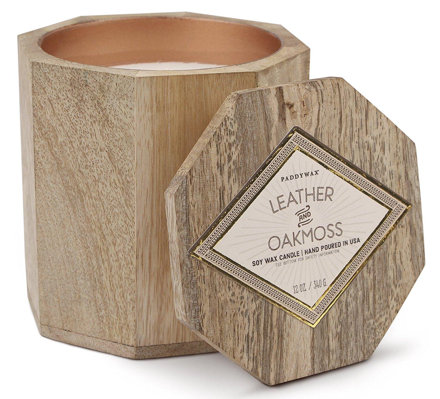 This fragrant, artisan, hand-poured candle brings elegance to any room. - $