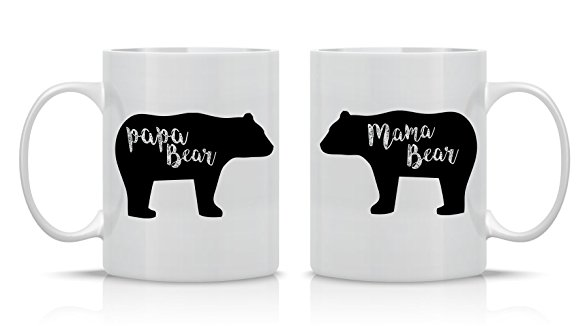 Mama & Papa Bear drink lots of java. - $