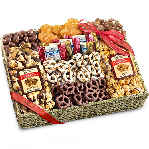 This decadent gift basket will make the perfect gift for your