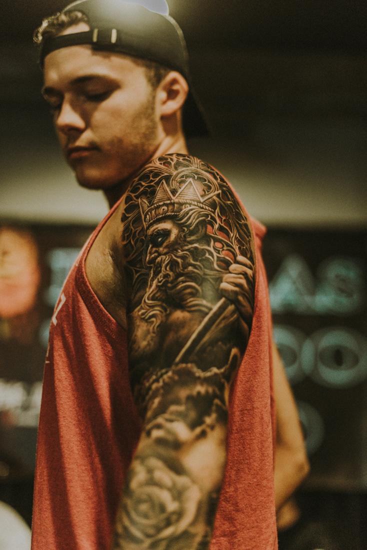 Rember Orellana &  Poch Tattoos beautiful collab.