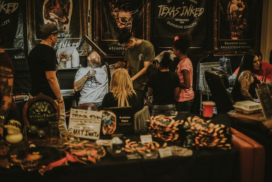 "Texas Inked Pro Team Artist  Tattoo Trey  when asked ""Is it gonna hurt""?"