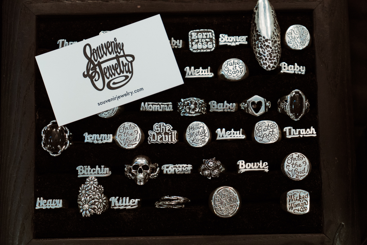 There was a very impressive display set up from Souveneir Jewelry!Can we have them all?