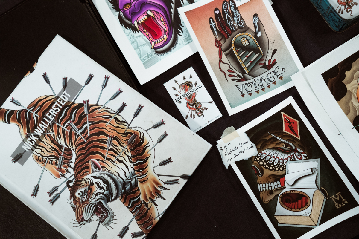Books and prints by Nick Wallerstedt