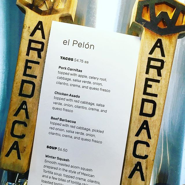 Perfect weather for a couple of pints and tacos.  @waredacabrewing 4-8pm tonight #tacos #dceats #circularfood