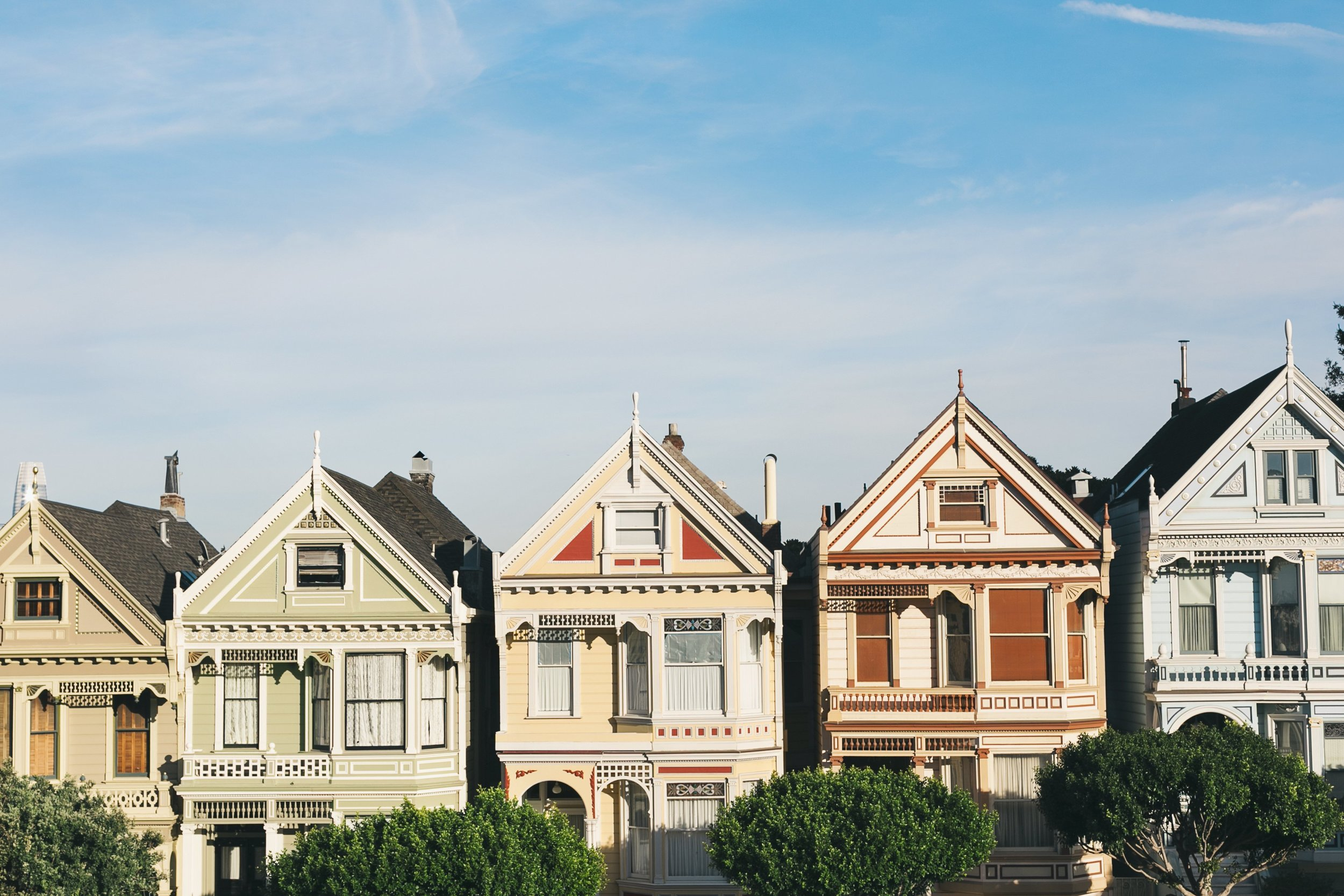 tbh, not even the prettiest houses in the city